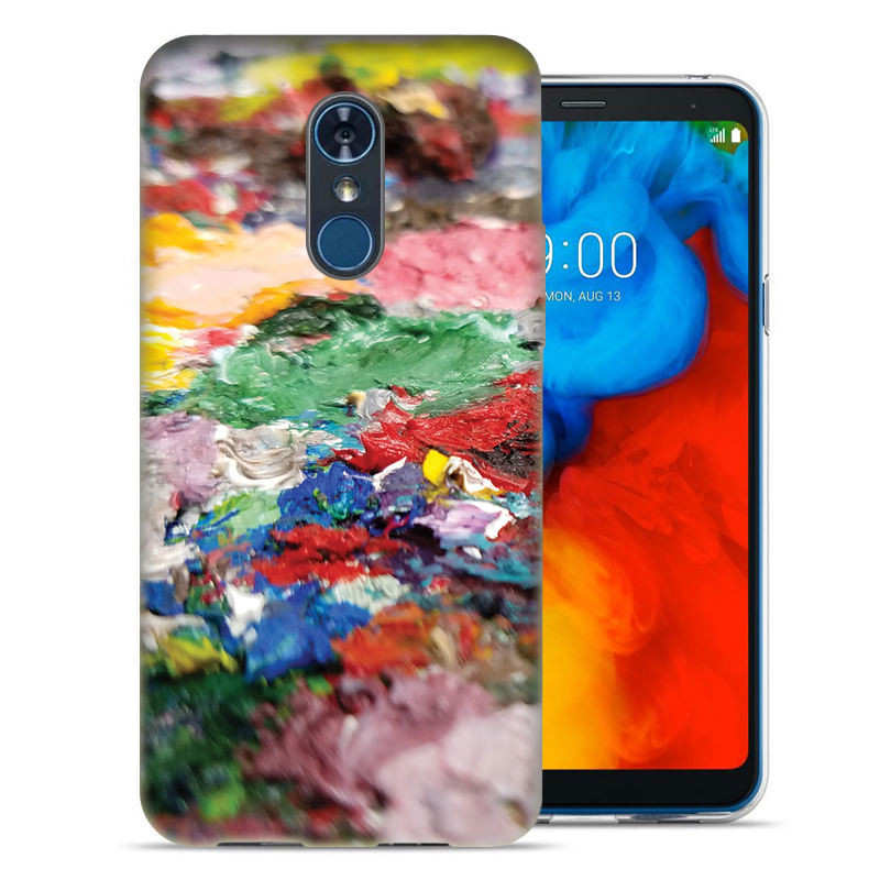 LG Stylo 4 Pallette2 Design TPU Gel Phone Case Cover