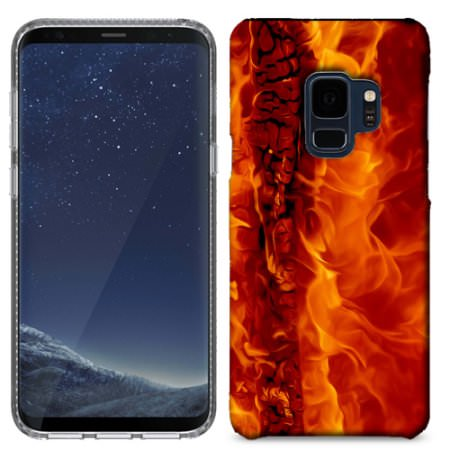 Samsung Galaxy S9 Raging Fire Phone Cases