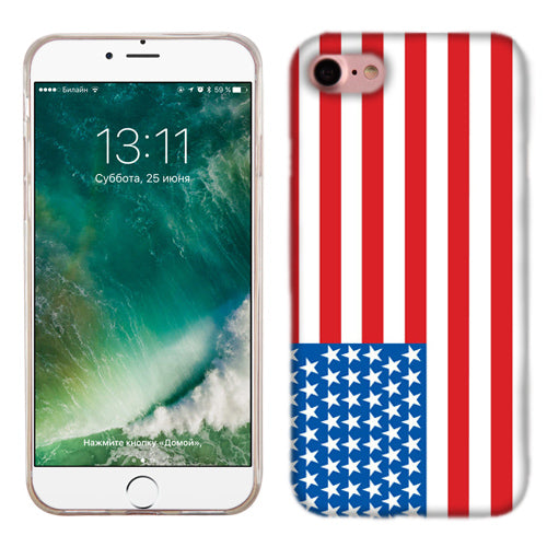 Apple iPhone 7 American Flag Phone Cases