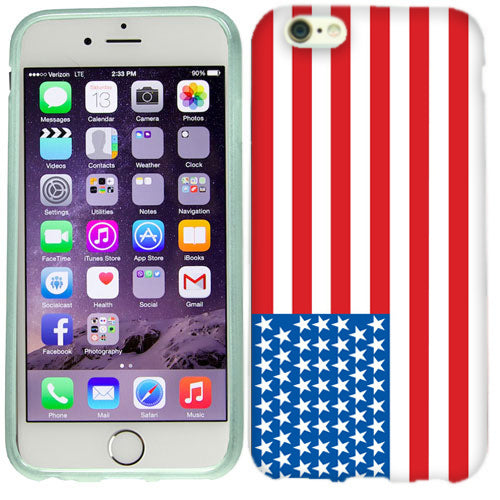 Apple iPhone 6s Plus American Flag Case Cover