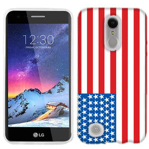 LG Fortune 2 American Flag Phone Cases