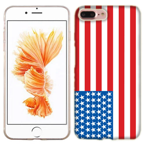 Apple iPhone 7 PLUS American Flag Phone Cases