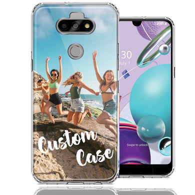 Personalized LG Aristo 5 K31 Fortune 3 Case Custom Photo Image Phone Cover