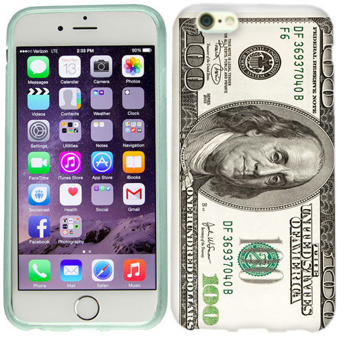 Apple iPhone 6s Plus Benjamin $100 Case Cover