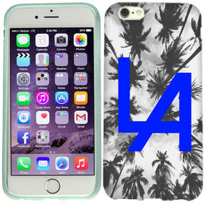 Apple iPhone 6s Plus Blue LA Case Cover