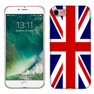 Apple iPhone 7 British Flag Phone Cases