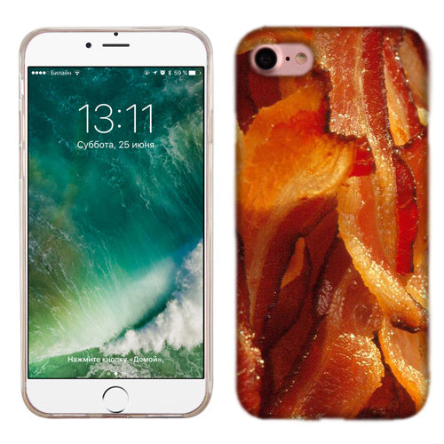 Apple iPhone 7 Bacon Phone Cases