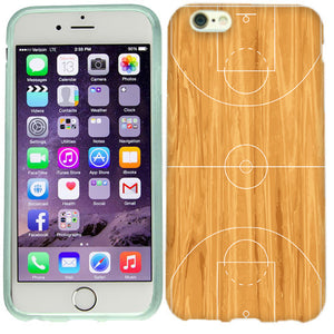 Apple iPhone 6s Basketball Court Case Cover