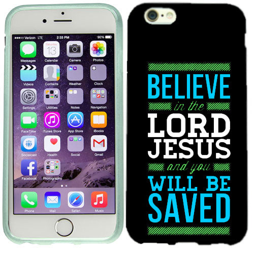 Apple iPhone 6s Plus Believe Jesus Case Cover