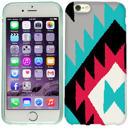 Apple iPhone 6s Black Navajo Case Cover