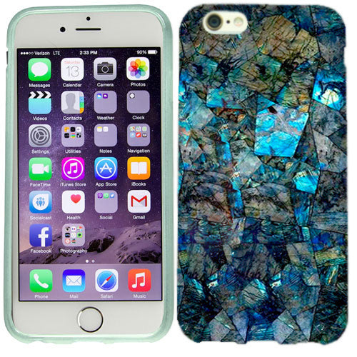 Apple iPhone 6s Plus Blue Stone Case Cover