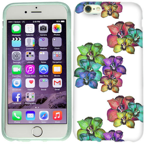 Apple iPhone 6s Plus Bright Orchids Case Cover