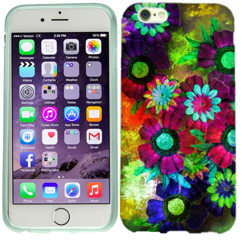 Apple iPhone 6s Plus Colorful Flowers Case Cover