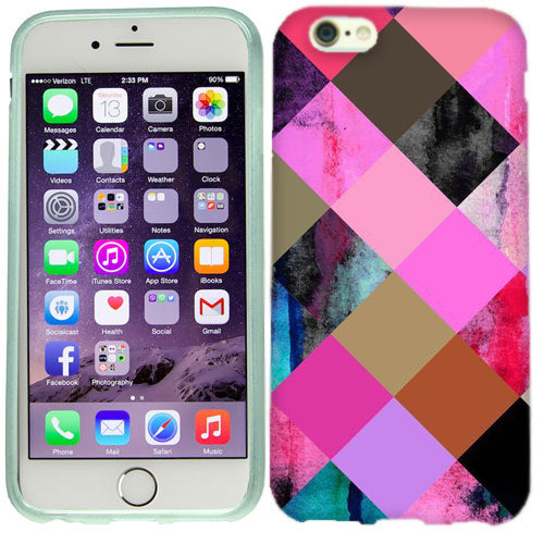 Apple iPhone 6s Plus Color Checkers Case Cover