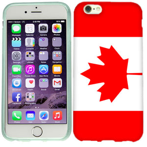 Apple iPhone 6s Canada Flag Case Cover