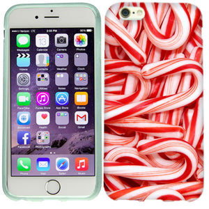 Apple iPhone 6s Candy Canes Case Cover