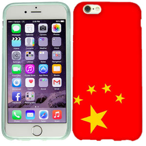 Apple iPhone 6s Chinese Flag Case Cover