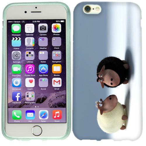 Apple iPhone 6s Plus Cute Sheeps Case Cover