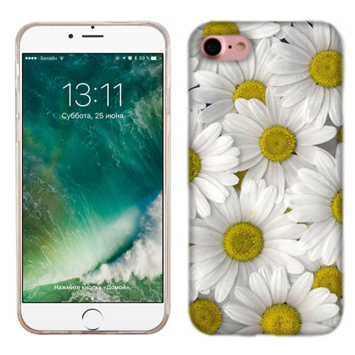 Apple iPhone 7 Daisy Bouquet Phone Cases