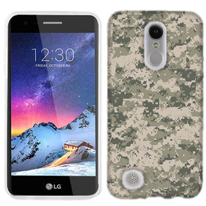 LG Fortune 2 Digital Camo Phone Cases