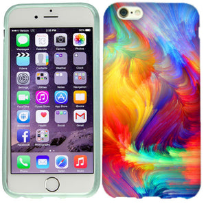 Apple iPhone 6s Plus Feathered Colors Case Cover