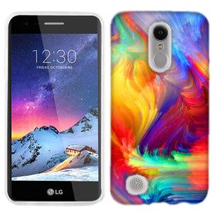 LG Tribute Dynasty Feathered Colors Phone Cases
