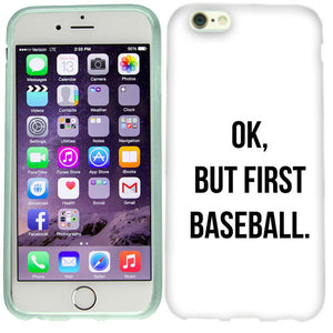 Apple iPhone 6s First Baseball Case Cover
