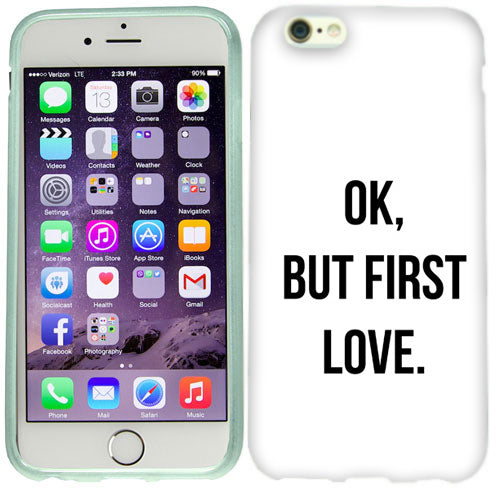 Apple iPhone 6s Plus First Love Case Cover