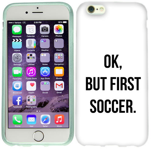 Apple iPhone 6s Plus First Soccer Case Cover