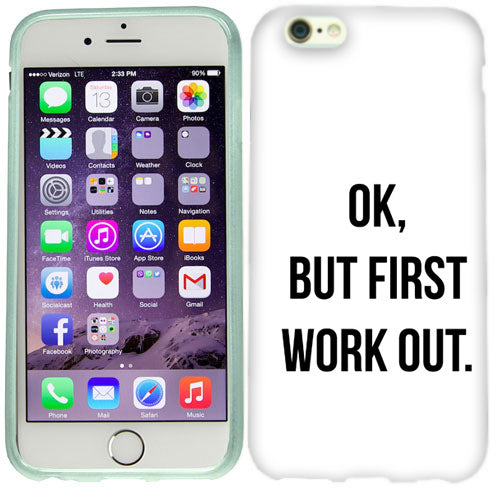 Apple iPhone 6s First Work Out Case Cover