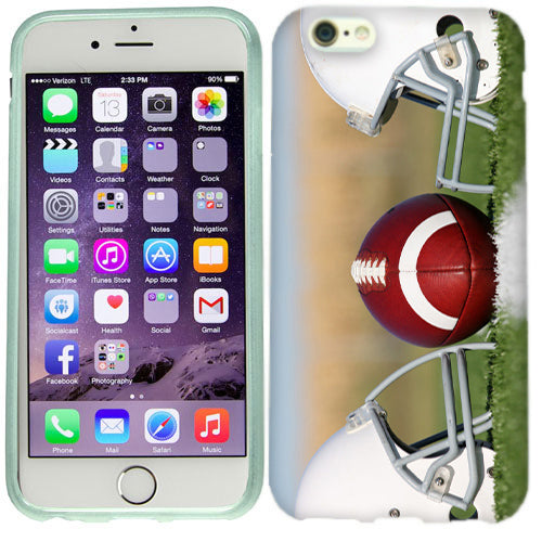 Apple iPhone 6s Plus Football Helmets Case Cover