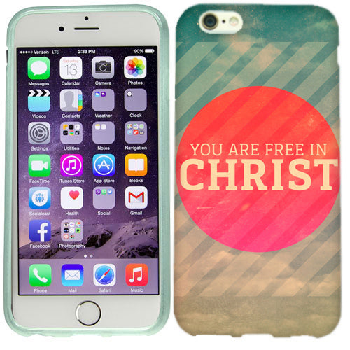 Apple iPhone 6s Plus Free In Christ Case Cover