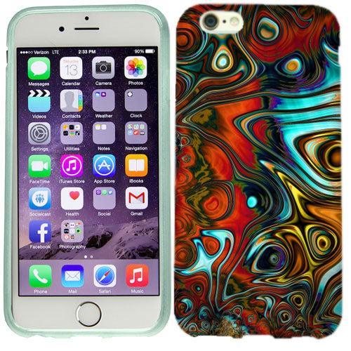 Apple iPhone 6s Groovy Waves Case Cover