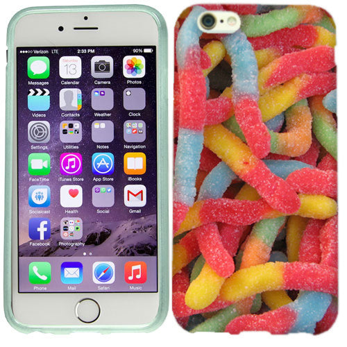 Apple iPhone 6s Plus Gummy Worms Case Cover