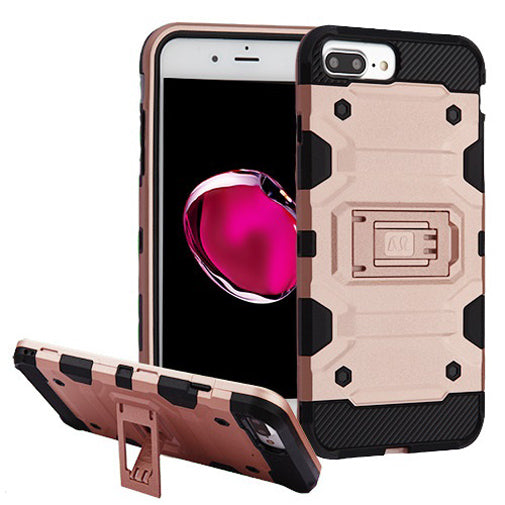 Apple iPhone 8 PLUS Rose Gold Comfort Techfix Phone Cases