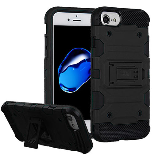 Apple iPhone 8 Black Comfort Techfix Phone Cases