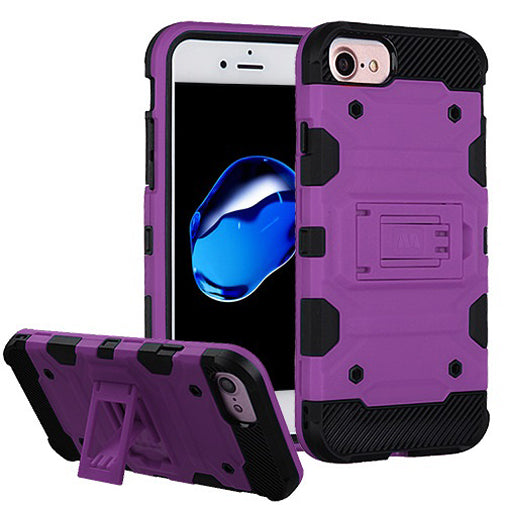 Apple iPhone 8 Purple Comfort Techfix Phone Cases