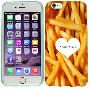 Apple iPhone 6s Plus I love Fries Case Cover