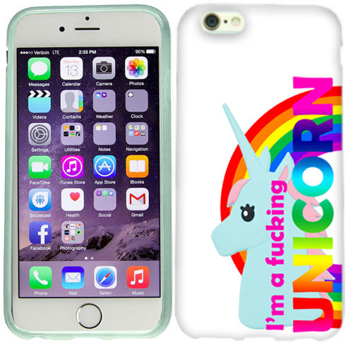 Apple iPhone 6s I'm a Unicorn Case Cover