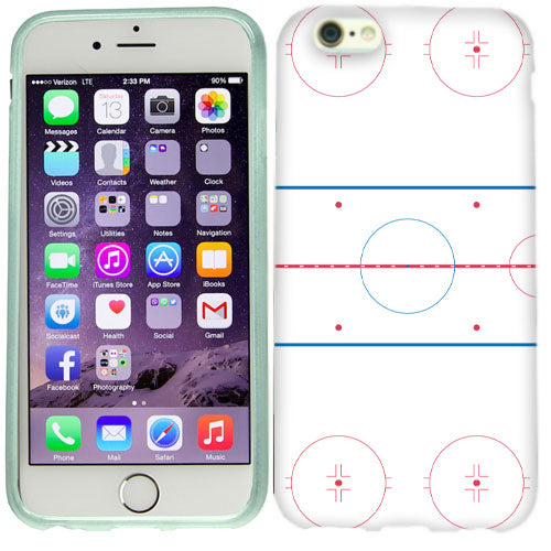 Apple iPhone 6s Plus Ice Hockey Rink Case Cover