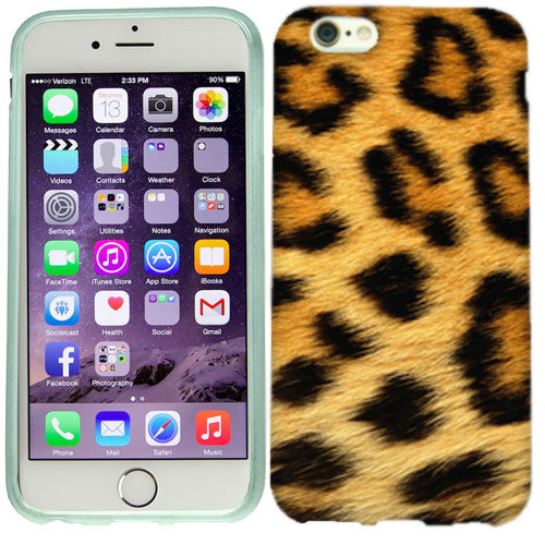 Apple iPhone 6s Plus Leopard Design Case Cover