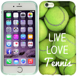 Apple iPhone 6s Plus Love Tennis Case Cover