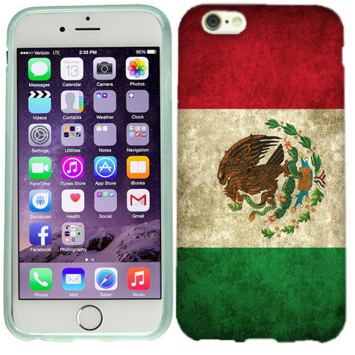 Apple iPhone 6s Mexico Flag Case Cover
