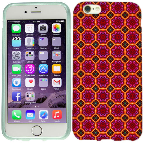 Apple iPhone 6s Modern Flowers Case Cover