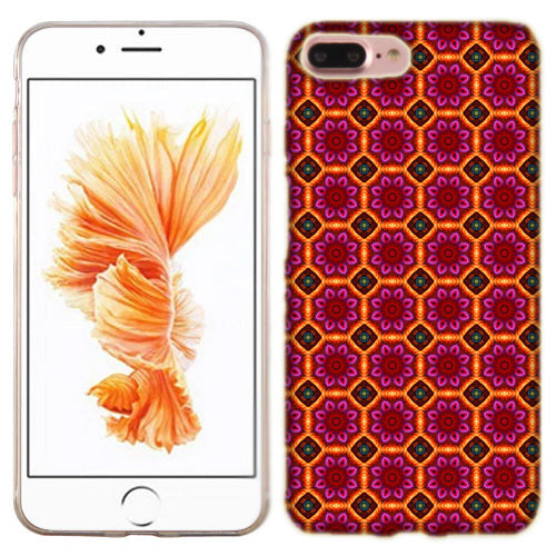 Apple iPhone 7 PLUS Modern Flowers Phone Cases