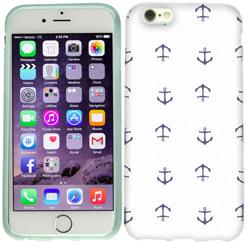 Apple iPhone 6s Nautical Anchors Case Cover