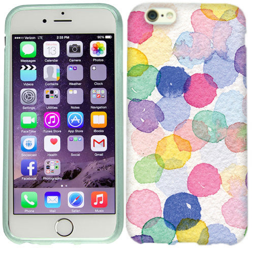 Apple iPhone 6s Paint Dots Case Cover