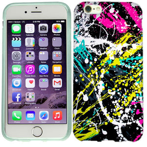 Apple iPhone 6s Paint Splatter Case Cover