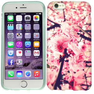 Apple iPhone 6s Plus Pink Blossom Case Cover