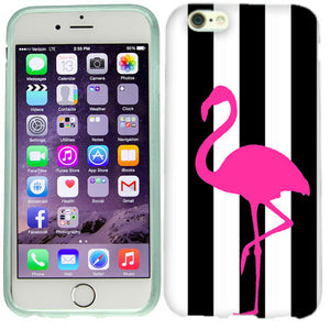 Apple iPhone 6s Pink Flamingo Case Cover